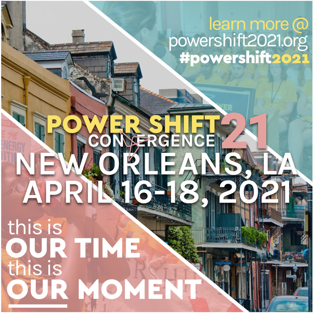 New Orleans - Power Shift 2021!
